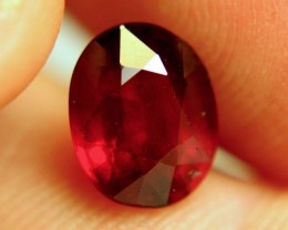3.82 Carat VS Pigeon Blood Ruby - Gorgeous
