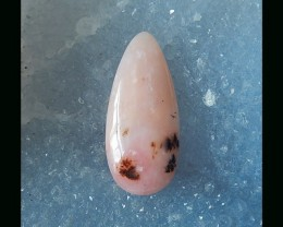 Romantic Series  - Fashion Pink Opal Teardrop Cabochon  - 31x14x6 MM