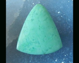 50CTS Natural Chrysoprase Gemstone - 38x34x6 MM