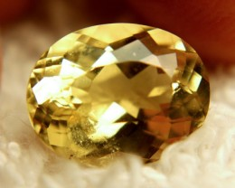 4.78 Carat VS Vibrant Yellow Beryl - Lovely Stone