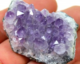 187.05 CTS AMETHYST GEMSTONE DISPLAY SPECIMEN