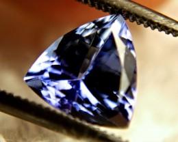 1.98 Carat Vibrant Blue VVS1 African Tanzanite - Impressive