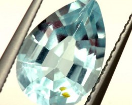 SWISS BLUE TOPAZ FACETED   IRRIDATED 2CTS  ADG-623