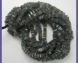 AA+ QUALITY 4-6.00MM LABRADORITE PLAIN HEISHI  BEADS!!