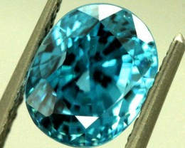 CERTIFIED ZIRCON CAMBODIA  5.98 CTS TBM-436