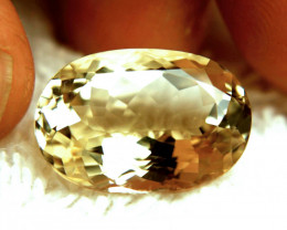 14.52 Carat VVS1 Golden Yellow Brazilian Beryl - Superb