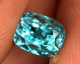 2.52 CTS CAMBODIAN SKY BLUE ZIRCON - [ST8986]