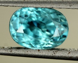 2.82 CTS CAMBODIAN SKY BLUE ZIRCON - [ST8992]