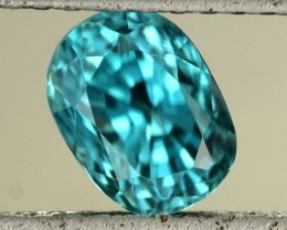 3.14 CTS CAMBODIAN SKY BLUE ZIRCON - [ST8994]