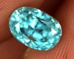 2.50 CTS CAMBODIAN SKY BLUE ZIRCON - [ST8996]