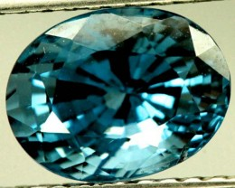 CERTIFIED ZIRCON CAMBODIA 3.47 CTS TBM-434