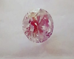 NATURAL-VERYRARE -ARGYLE PINK DIAMOND 3MMSIZE -1PCS