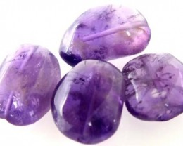 45.8 CTS AMETHYST BEADS DRILLED  NP-267