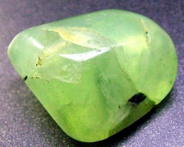 28 CTS PREHNITE BEAD DRILLED   AP234A