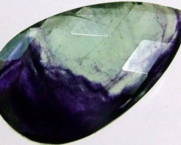 BI COLOUR FLUROIDE STONES-FACATED 6.8CTS [S1877]