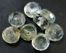 NATURAL AQUAMARINE BEADS 9.05 CTS GW 1788-3