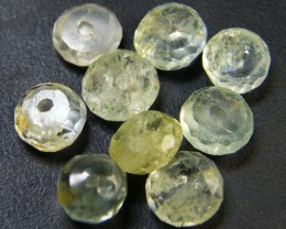 NATURAL AQUAMARINE BEADS 10.55 CTS GW 1788-12