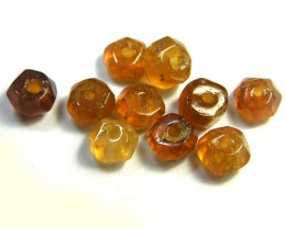 NATURAL AUSTRALIAN ZIRCON BEADS 10.45 CTS GW 643-4