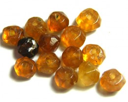 NATURAL AUSTRALIAN ZIRCON BEADS 14.40 CTS GW 643-8