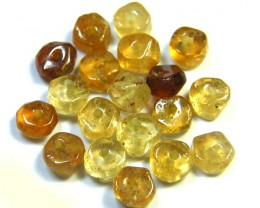 NATURAL AUSTRALIAN ZIRCON BEADS 12.95 CTS GW 643-12