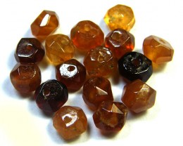 NATURAL AUSTRALIAN ZIRCON BEADS 18.35 CTS GW 643-16