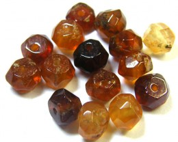 NATURAL AUSTRALIAN ZIRCON BEADS 17.80 CTS GW 643-17