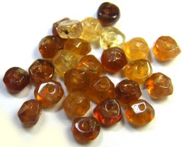 NATURAL AUSTRALIAN ZIRCON BEADS 19.05 CTS GW 643-20