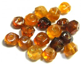 NATURAL AUSTRALIAN ZIRCON BEADS 16.40 CTS GW 643-21