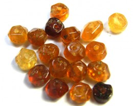 NATURAL AUSTRALIAN ZIRCON BEADS 15.45 CTS GW 643-23