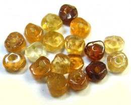 NATURAL AUSTRALIAN ZIRCON BEADS 10.35 CTS GW 643-24