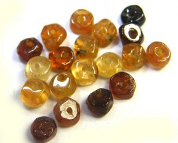 NATURAL AUSTRALIAN ZIRCON BEADS 13.40 CTS GW 643-26