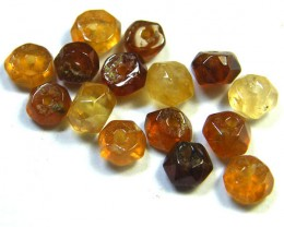 NATURAL AUSTRALIAN ZIRCON BEADS 14.70 CTS GW 643-28