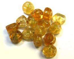 NATURAL AUSTRALIAN ZIRCON BEADS 10.55 CTS GW 643-29