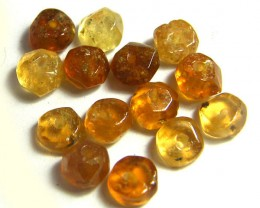 NATURAL AUSTRALIAN ZIRCON BEADS 10.35 CTS GW 643-31