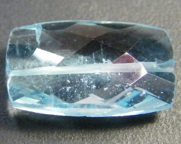 NATURAL BLUE TOPAZ BEAD 9.50 CTS GW 1451-13