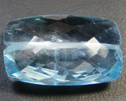 NATURAL BLUE TOPAZ BEAD 11.80 CTS GW 1451-15