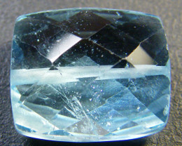 NATURAL BLUE TOPAZ BEAD 8.80 CTS GW 1451-22