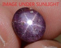 3.69 Ct Star Ruby CERTIFIED Beautiful Natural Unheated & Untreated