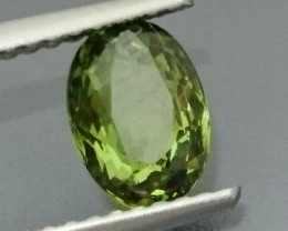 1.31 ct Natural DEMANTOID GARNET