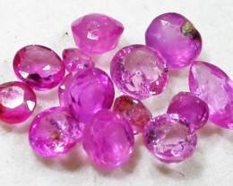 1.5 CTS AUSTRALIAN PINK SAPPHIRE PARCEL [ST9079]