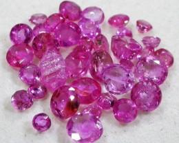 3 CTS AUSTRALIAN PINK SAPPHIRE PARCEL [ST9099]8