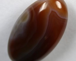 20.85 CTS BANDED AGATE POLISHED STONE
