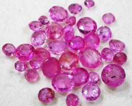 3 CTS AUSTRALIAN PINK SAPPHIRE PARCEL [ST9128]