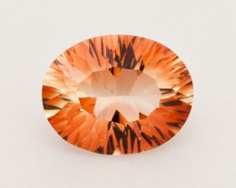 2.6ct Peach Oval Sunstone (S2321)