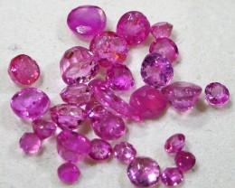 3 CTS AUSTRALIAN PINK SAPPHIRE PARCEL [ST9171]8