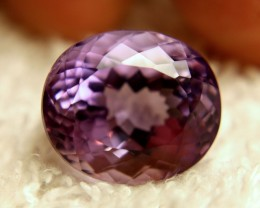 15.06 Carat VVS1 Vibrant South American Amethyst - Lovely