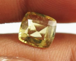 1.55ct Sparkling Pastel Yellow Chrysoberyl, Sri Lanka - SL24a
