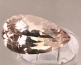 1.65ct Pear Shape Peach Pink - Morganite - VVS A188 G239