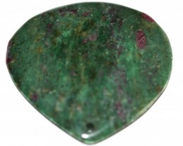 Natural Ruby in Fuchsite Cabochon RF- 19