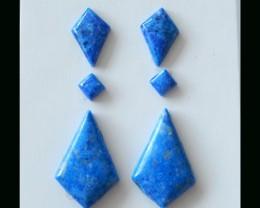 Lapis Lazuli Cabochon Gemstone -  15x10x3  MM,24X16X4 MM